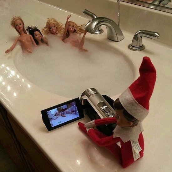 Getting Creative With Elf On Shelf13