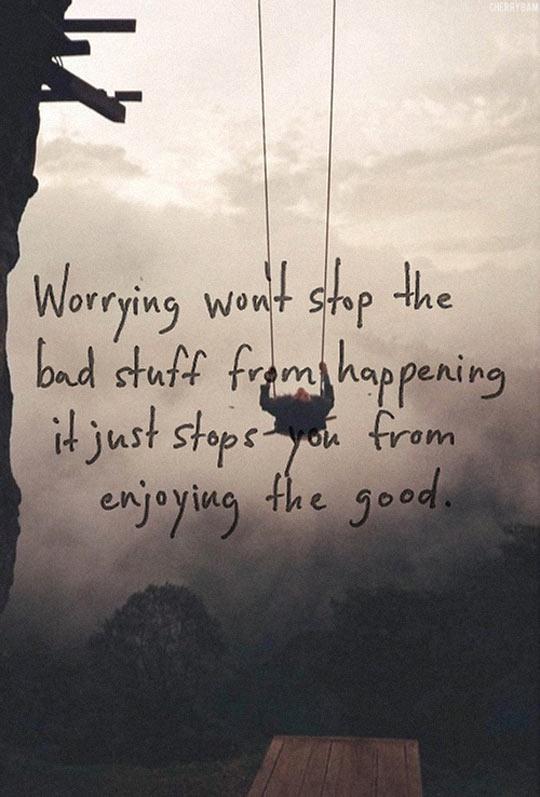 Start enjoying