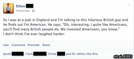 This is why I love drunk, British people.