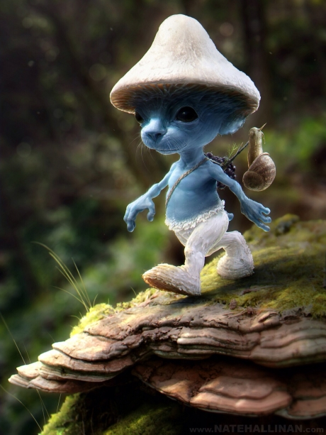 What smurfs would look like in real life.