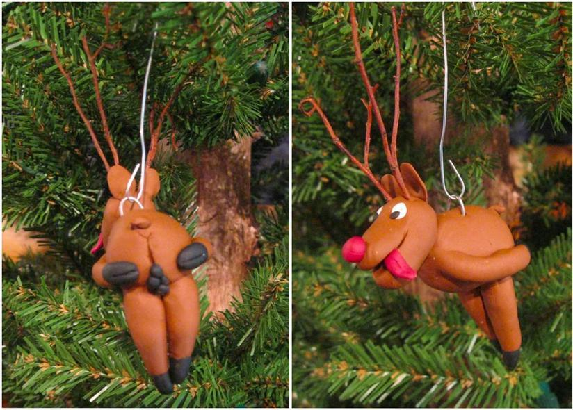 Naughty Christmas Ornaments