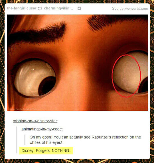 Disney forgets nothing…