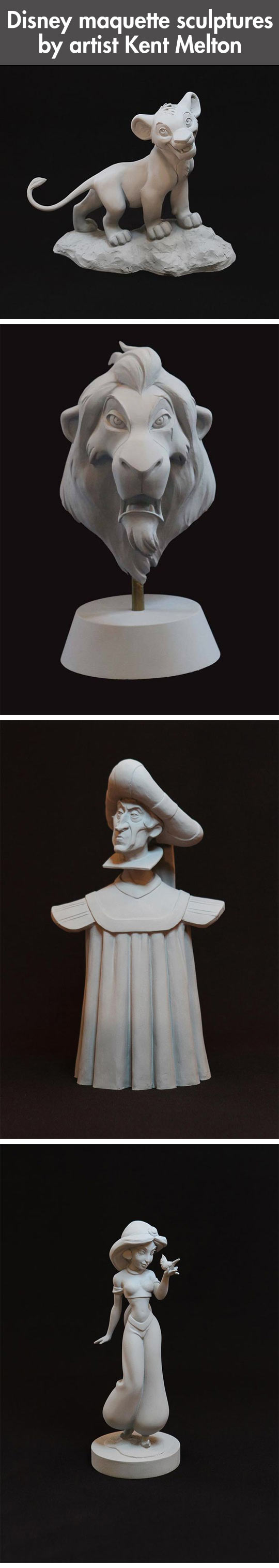cool-Disney-maquette-sculptures