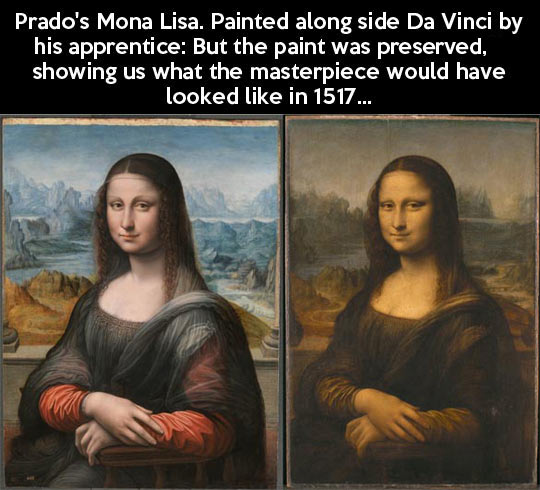 If the Mona Lisa was preserved…