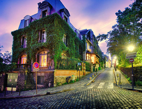 Just a street in Paris…