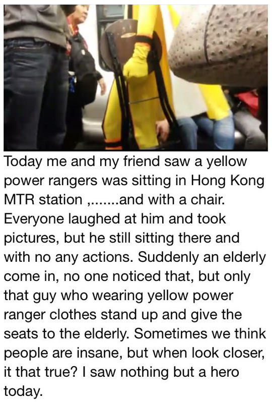 cool-Power-Rangers-costume-subway-chair