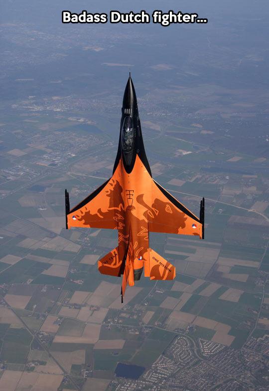 The coolest combat aircraft…