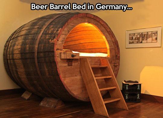 cool-beer-Germany-bed-barrel