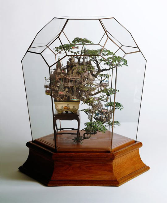 A tree house for ants…