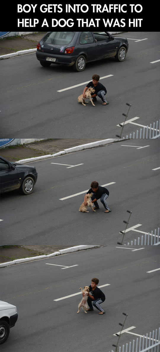Hero of the day…