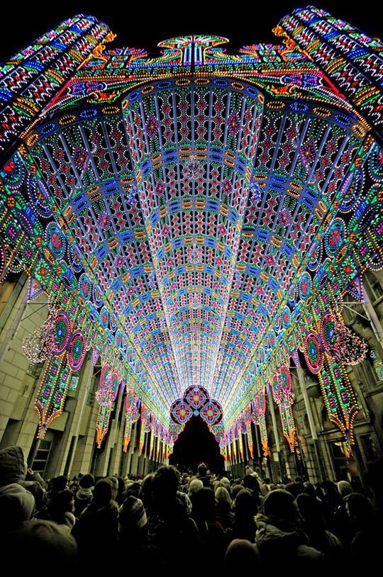 Cathedral from 55,000 LEDs…