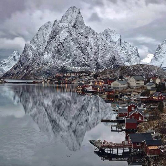 Winter in Lofoten Islands, Norway…