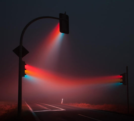 The dark side of the road…