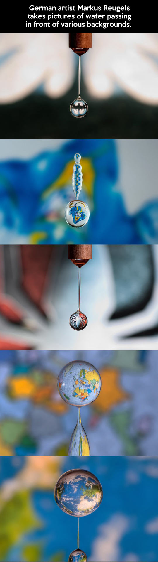 Water drop art...