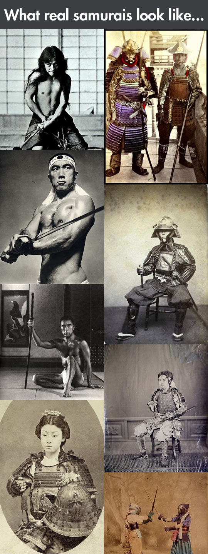 Real life samurais...