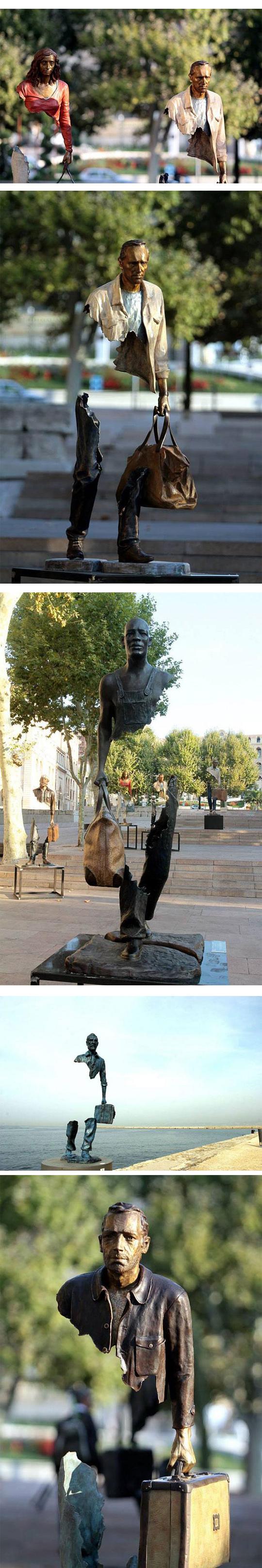 cool-sculpture-bronze-art-street