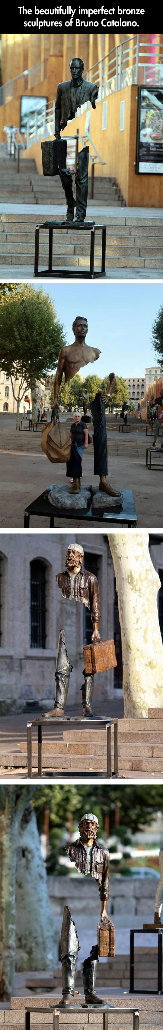 Beautifully imperfect sculptures...