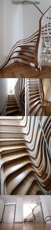If Tim Burton designed stairs…