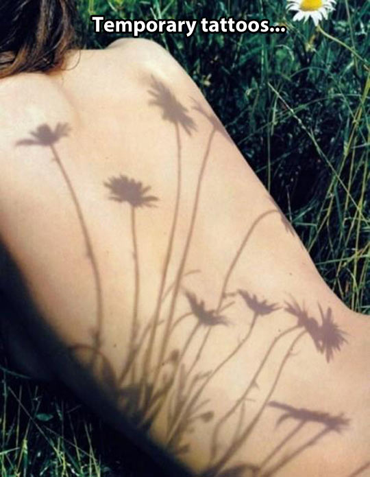 Natural tattoos…