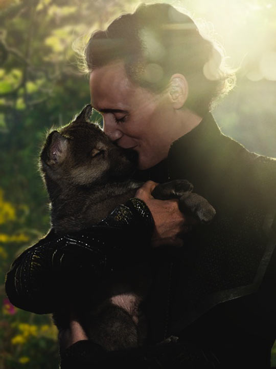 Tom and his puppy…