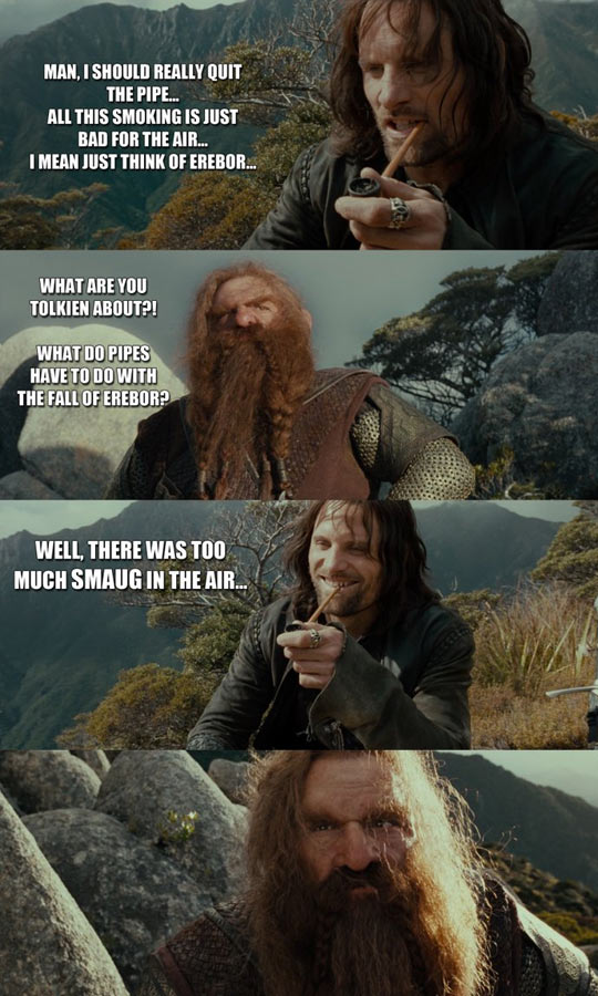 Middle Earth puns…