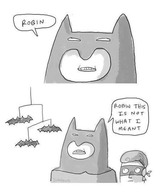 You had one job, Robin…