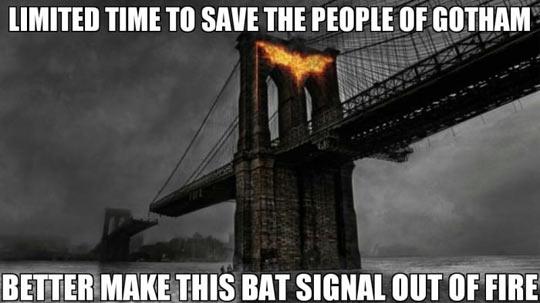 Bad guy Batman…