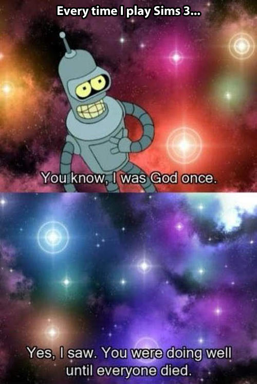 funny-Bender-god-universe-everyone-died-space-Futurama