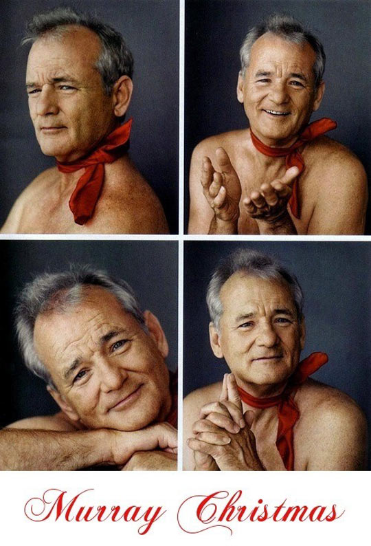 Very Murray Christmas…