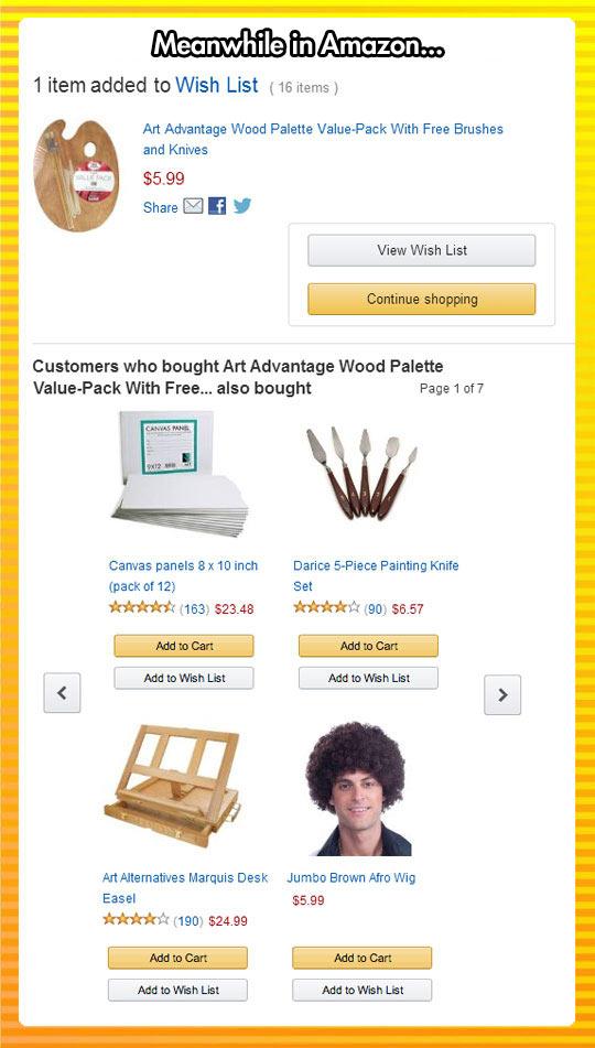 funny-Bob-Ross-Amazon-suggestions-wig
