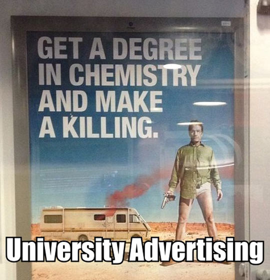 University sells Meth to students…