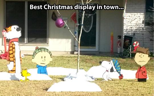 Creative Christmas display…