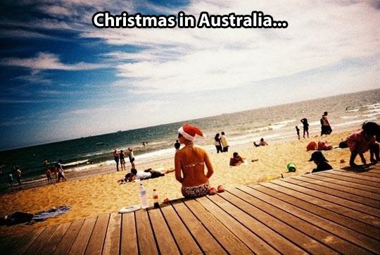funny-Christmas-Australia-beach-hat