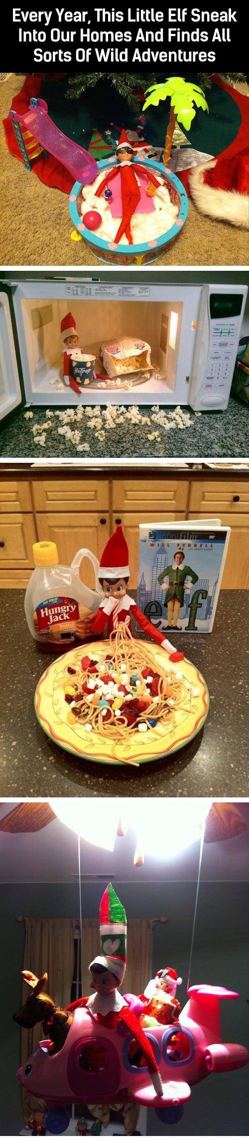 Adventures of Elf on the Shelf...