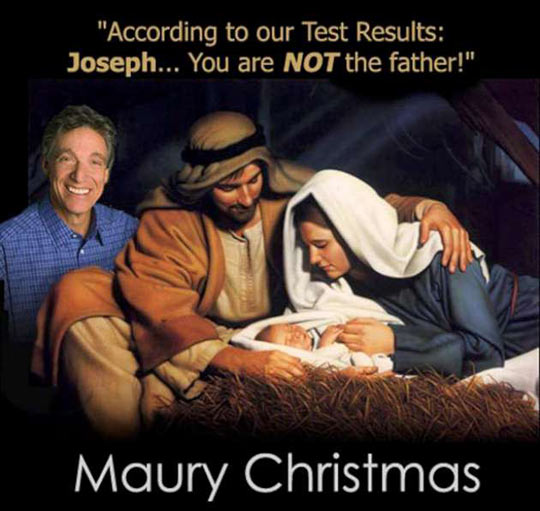 Maury Christmas everyone…