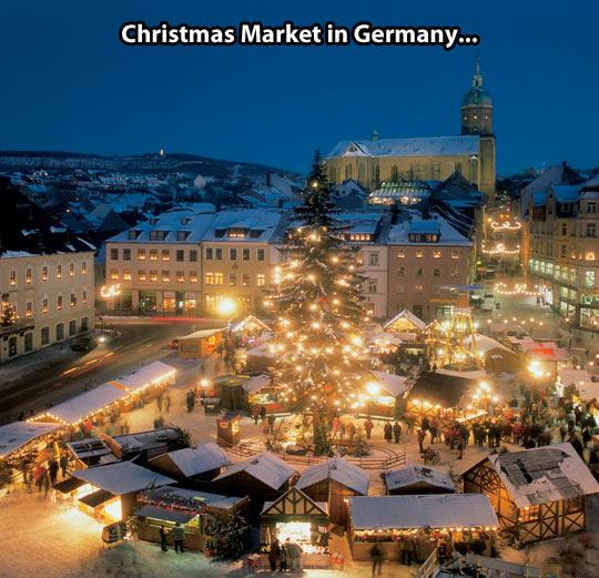 Amazing Christmas market…