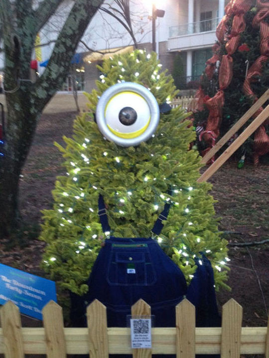 Minion Christmas tree…