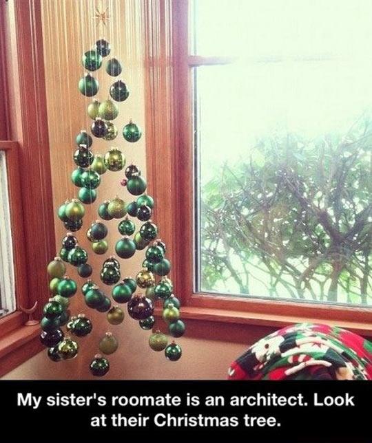 Architect's Christmas tree…