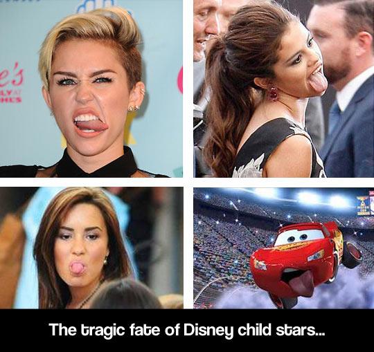 The tragic fate of Disney…
