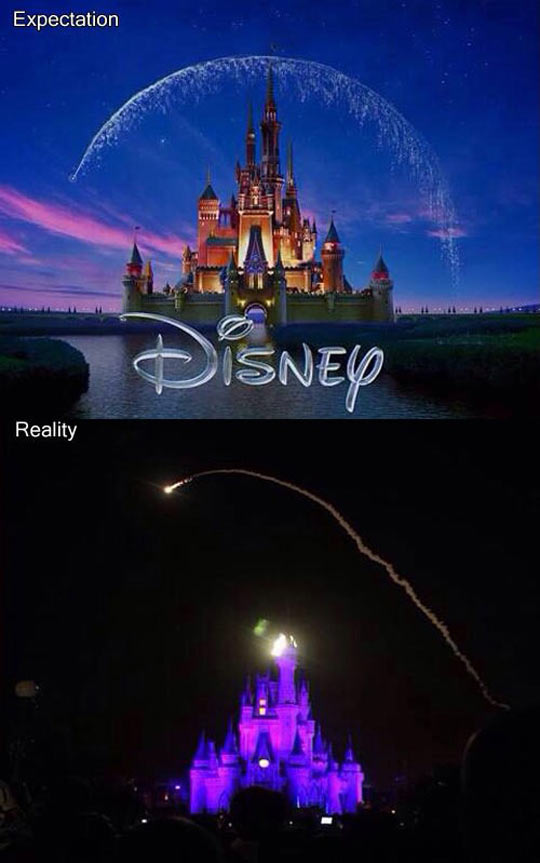 funny-Disney-world-Castle-fireworks-night