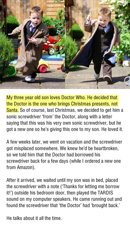 The best Christmas gift…