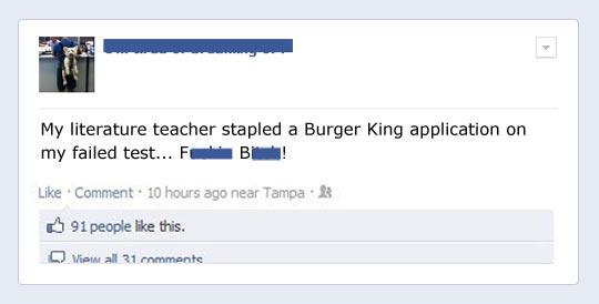 This teacher…