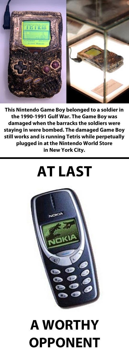 Nokia vs. Nintendo Game Boy…