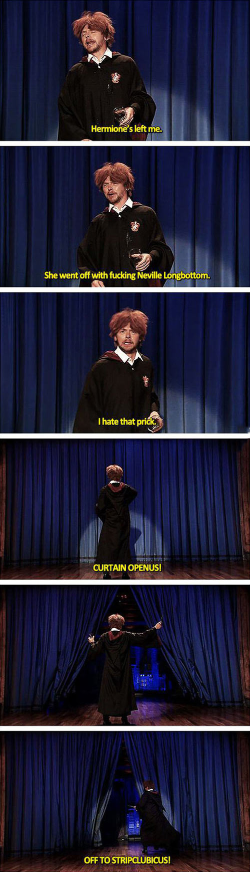 funny-Harry-Potter-Ron-drunk