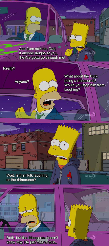 funny-Homer-Barth-car-Simpsons-laughs