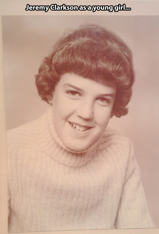 Young Jeremy Clarkson…
