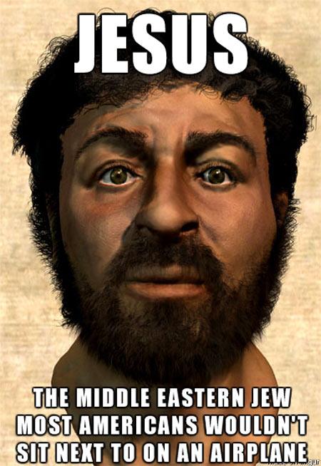 The true face of Jesus…