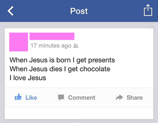 Thanks a lot Jesus…