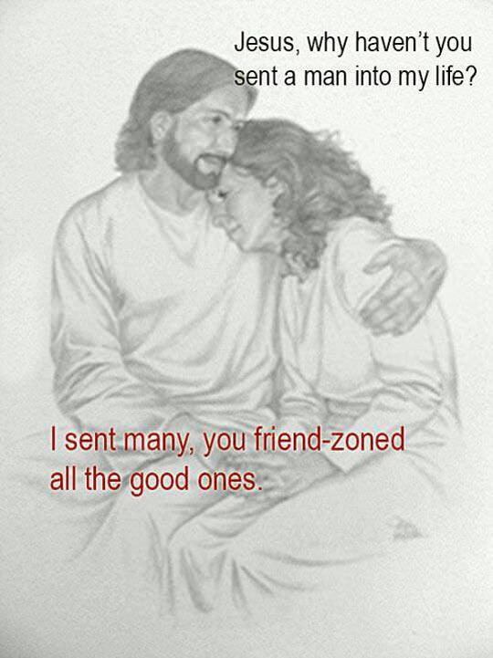 It's in the scriptures…