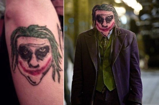 Joker has changed…